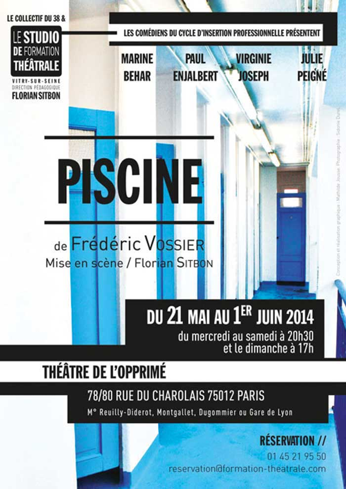 Piscine Le Studio De Formation Theatrale